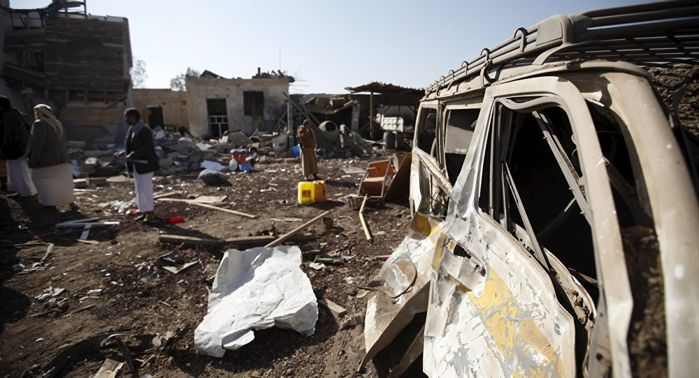死士在也門南部引爆炸彈致30死70傷