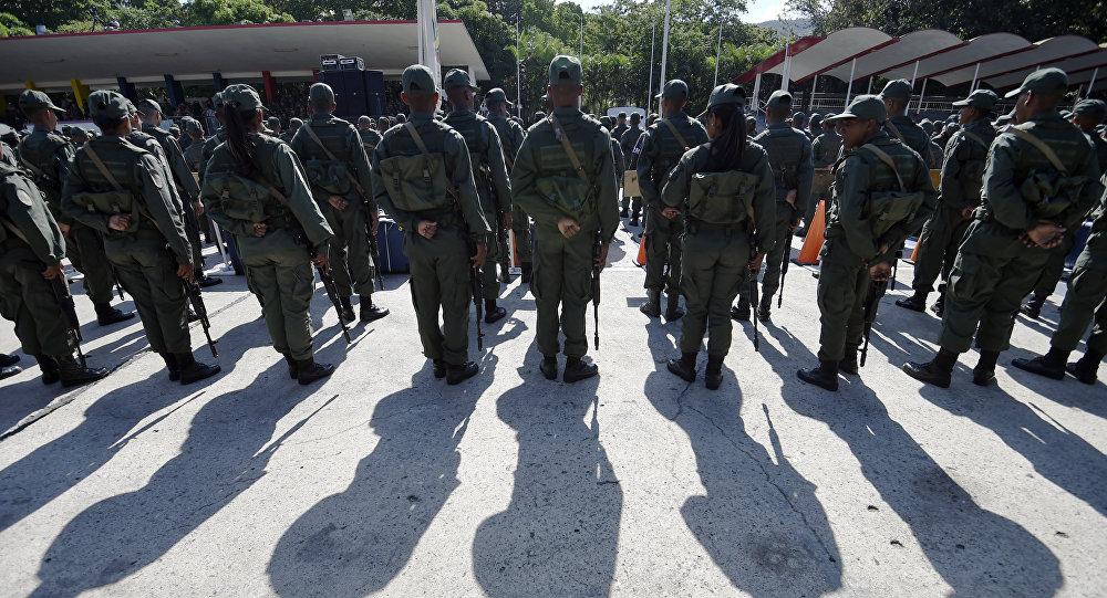 """委内瑞拉防长:特朗普的军事干预声明""""冒失鲁莽"""""""