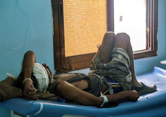 """消息人士:盟军空袭也门""""无国界医生""""组织医院 致3人死亡"""