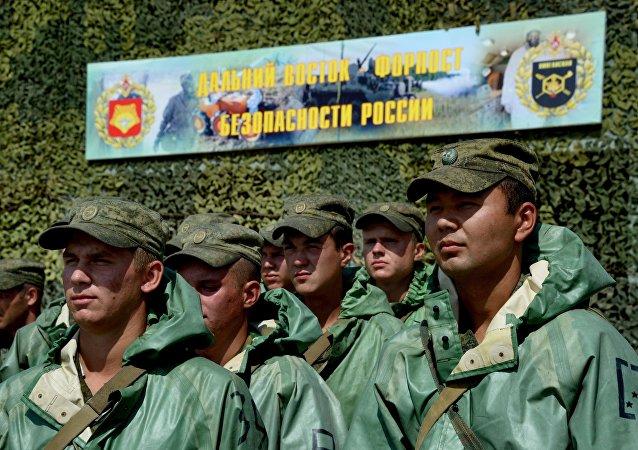 俄东部军区生化部队2016年将参加两场国际军演