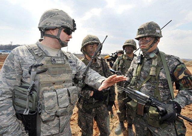 驻韩美军中发现有22人感染新冠病毒
