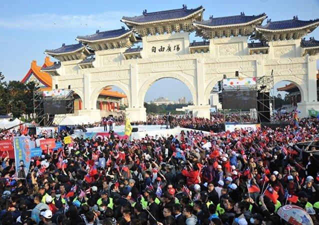 台湾大选进入决战阶段