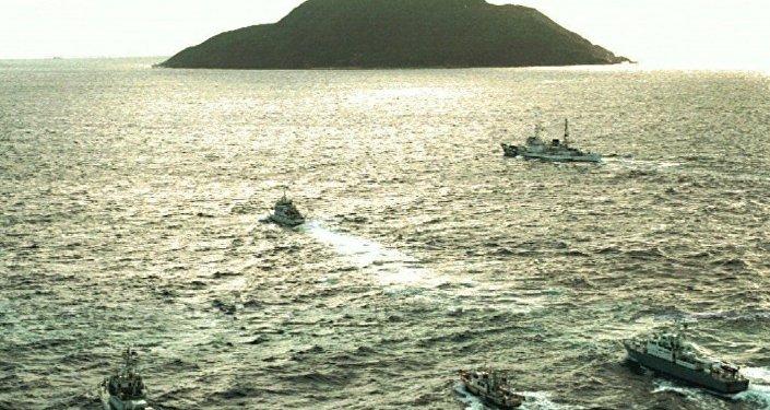 """中国外交部:日本在钓鱼岛问题上依靠""""外援""""的做法是徒劳的"""