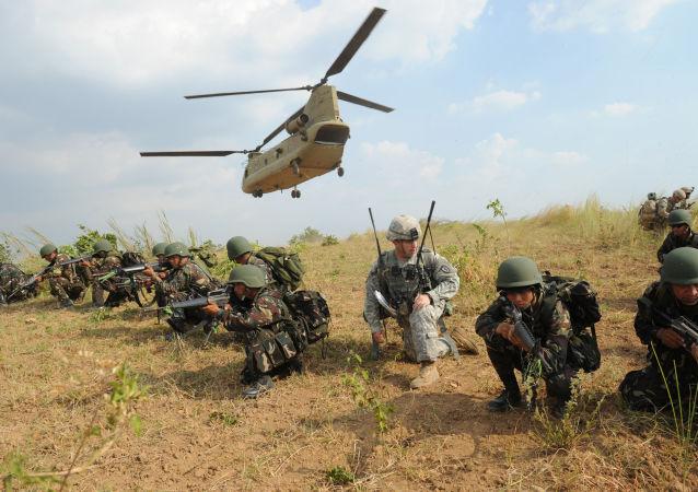 菲律宾总统:菲或与俄中进行联合军演