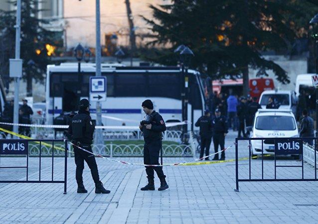 通讯社:伊斯坦布尔安全部门大楼遭到榴弹发射器攻击