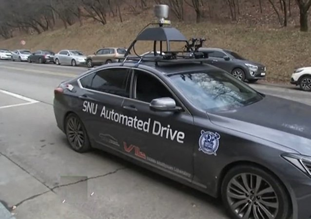 欢迎来到未来:在首尔,测试自动化出租车