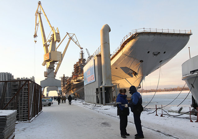 媒体:俄罗斯重振航母制造业