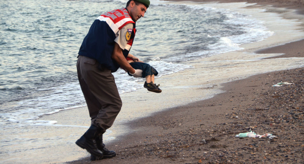 死去叙利亚男孩艾兰•库迪