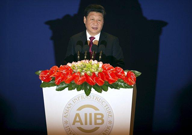 习近平:启动亚洲基础设施投资银行是迈向全球经济管理改革的步骤