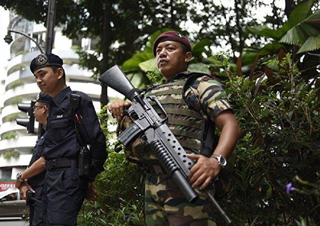 """马来西亚当局逮捕了六名涉嫌与""""伊斯兰国""""有染的疑犯"""