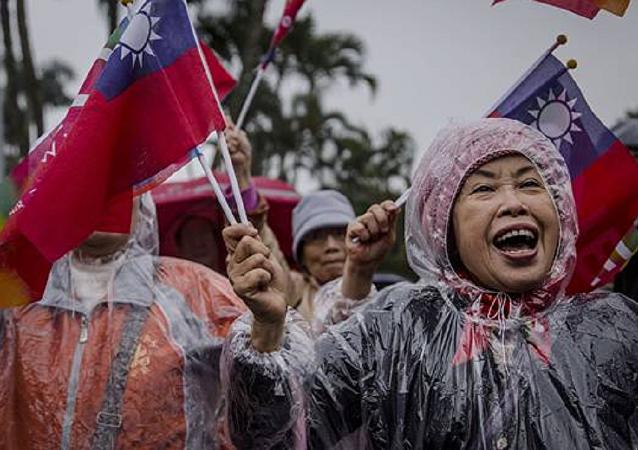中国重申不会干预台湾选举进程
