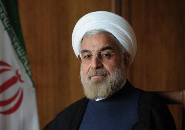 伊朗总统哈桑•鲁哈尼