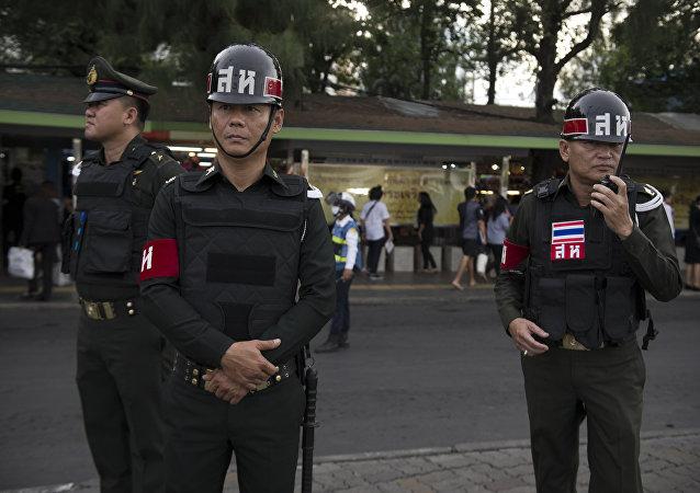 泰国警方挫败了对该国总理的暗杀阴谋/资料图片/