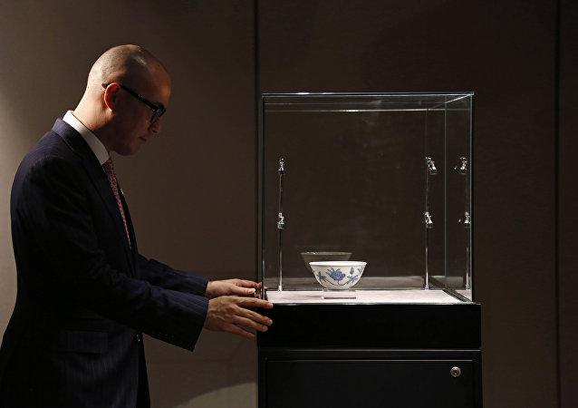 """最好中国瓷器""""藏品将拍卖 估价2800万美元"""