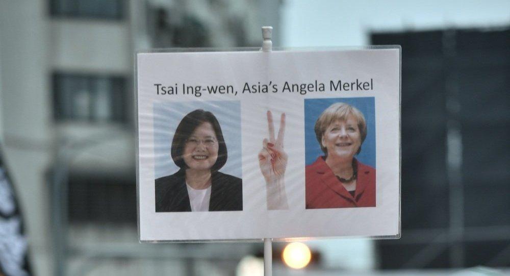"""""""亚洲默克尔""""赢得台湾大选"""