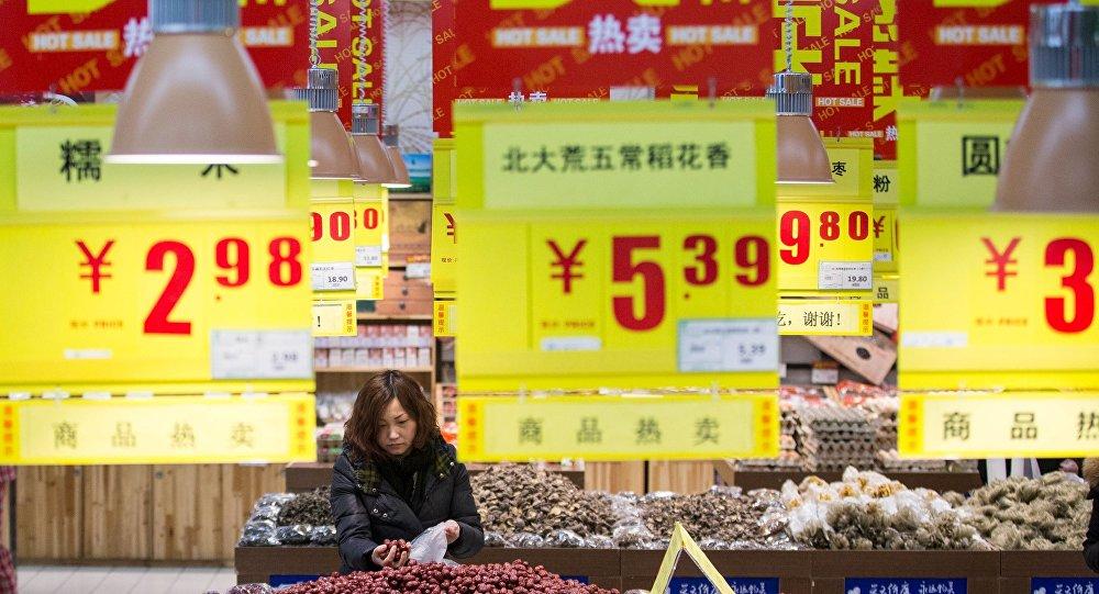 中国国家统计局:2月CPI同比上涨2.3%