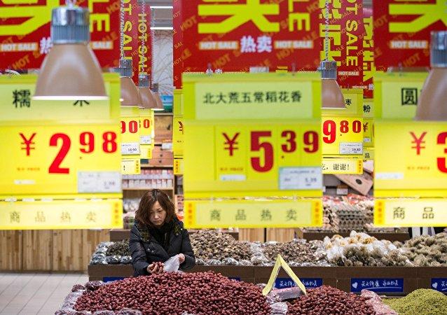 中国国家统计局:4月CPI同比上涨2.3%