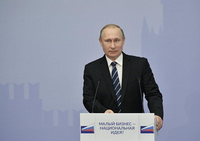 普京:俄罗斯企业挺住经济困难