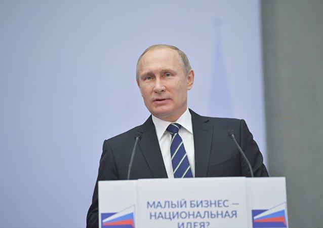 普京:不控制俄货币数量增加十分威胁