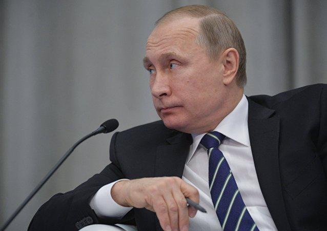 普京承诺协助企业家实施业务发展方案