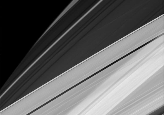 美国宇航局提供了高品质的土星环带图像