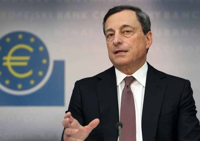 欧洲中央银行行长马里奥·德拉吉