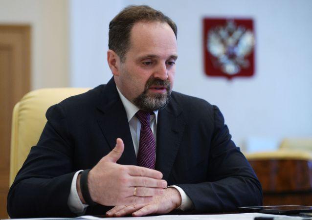 俄自然资源和生态部部长谢尔盖·东斯科伊