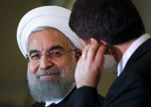 伊朗总统与意大利总理