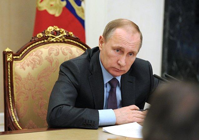 普京:俄战胜腐败未必是一朝一夕的事情但不能止步