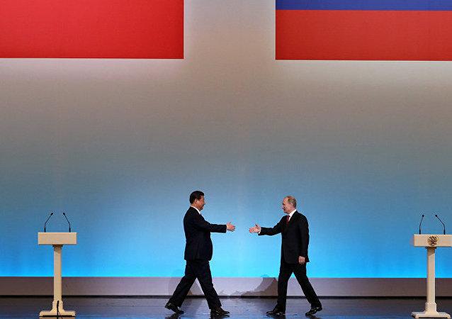 俄中合作伙伴关