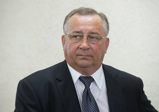 俄石油管道运输公司总裁尼古拉·托卡列夫
