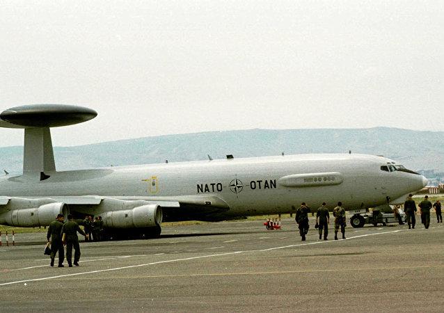 北约将派AWACS系统侦察机监视叙利亚和伊拉克局势