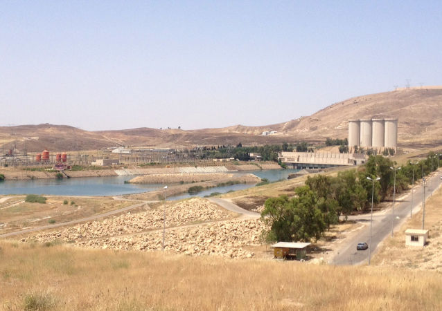美军指挥官担心伊拉克 摩苏尔水坝坍塌