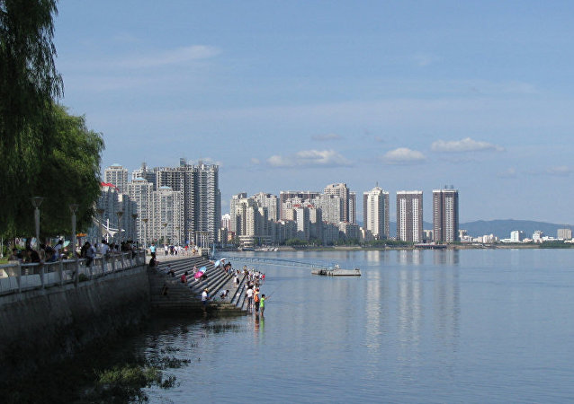 中朝新鸭绿江大桥即将竣工
