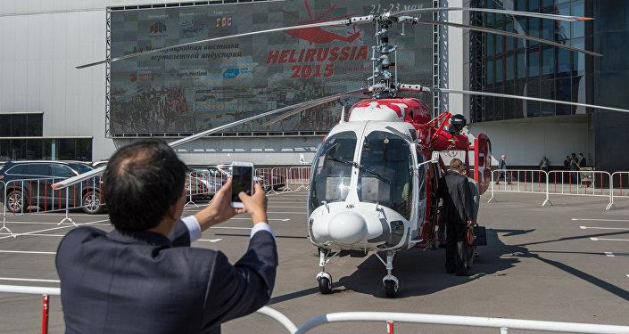 俄正研制无人驾驶版卡-226T直升机