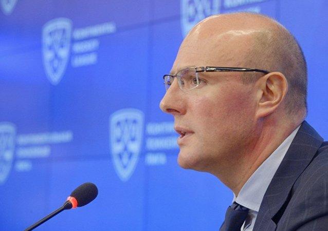 大陆冰球联盟总裁德米特里·切尔内申