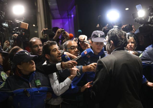 叙利亚反对派代表在日内瓦/资料图片/