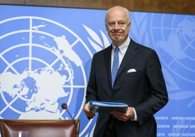 德米斯图拉:叙利亚谈判暂停 新一轮谈判将在2月25日开始