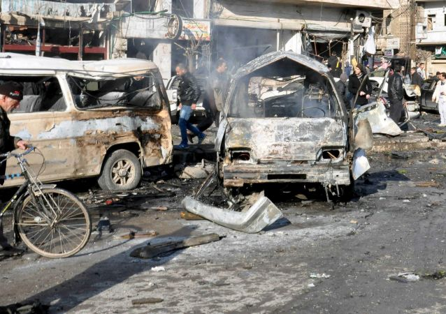 大马士革郊区爆炸事件遇难者超过60人