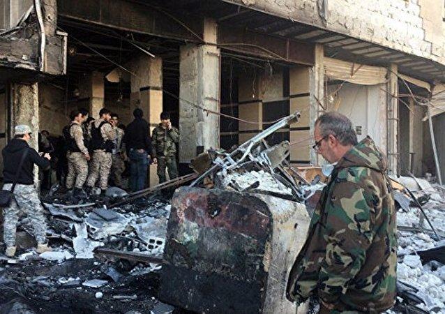 大马士革恐怖袭击