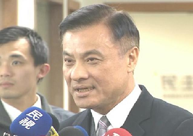 """台湾民进党人士成为新""""立法院长"""""""