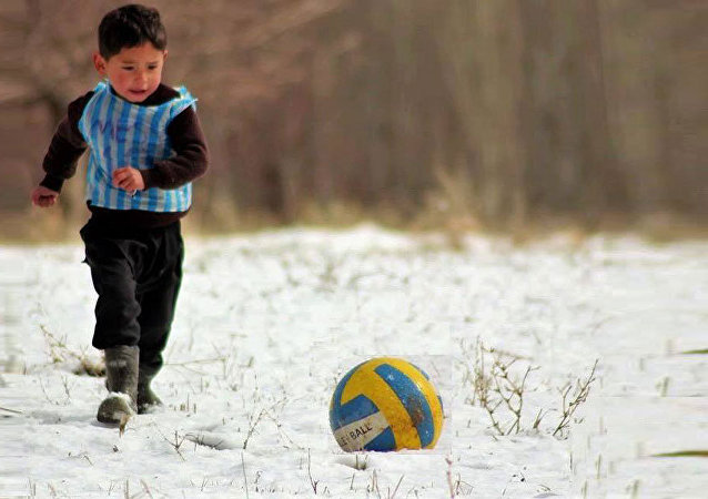 """阿富汗""""梅西""""梦想和阿根廷国脚前锋梅西见面"""