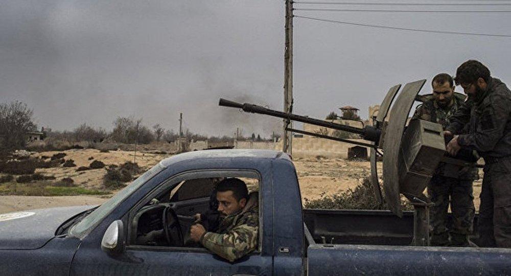 Сирийская армия восстановила контроль над селением в провинции Алеппо