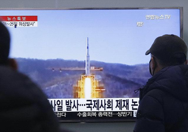 东京不排除朝鲜或再发射一枚弹道导弹