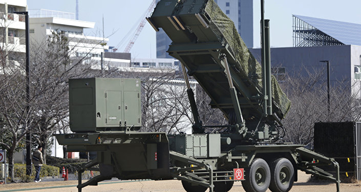 日本部署反导系统