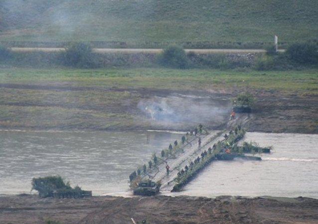 """俄罗斯东部军区:蒙古军队代表团抵达布里亚特商讨""""色楞格""""军事演习细节"""