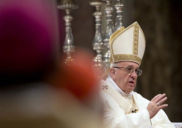 罗马教皇称当前移民危机为二战以来最大灾难