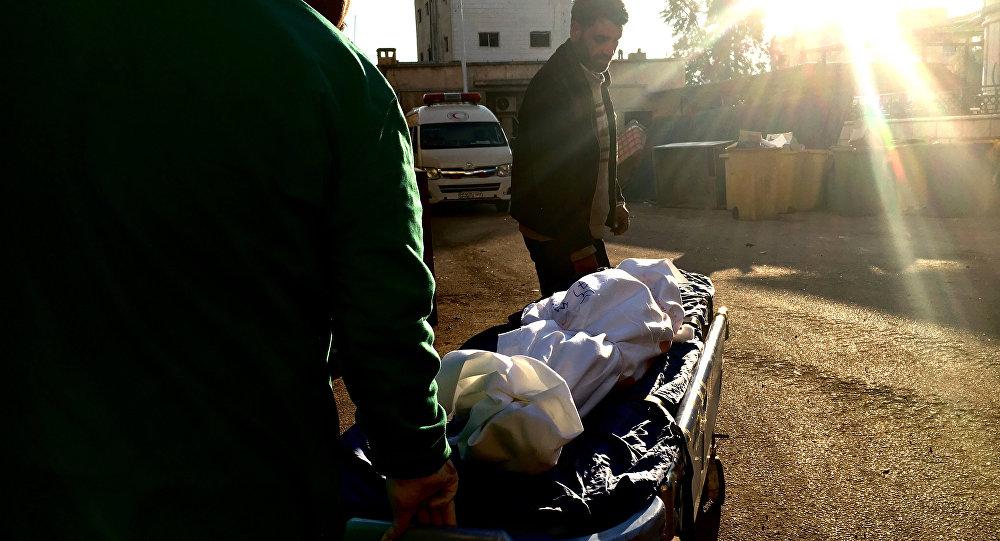 叙利亚德拉市遭武装分子导弹袭击