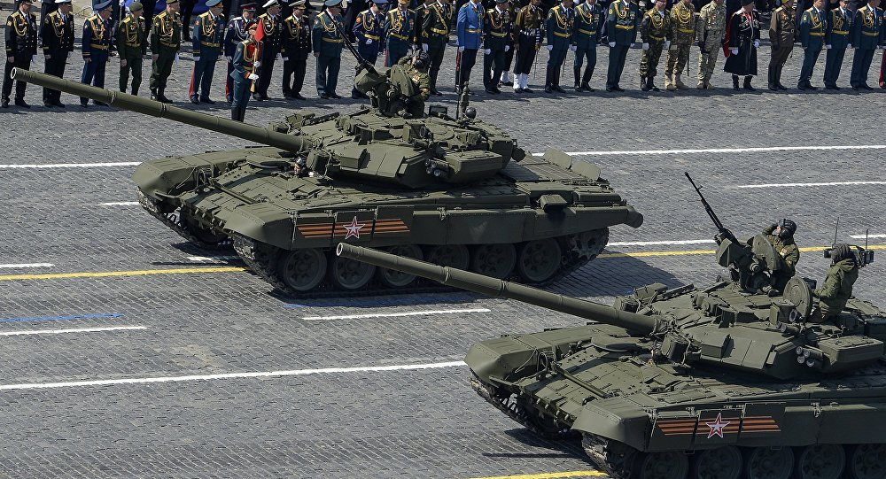 坦克T-90S