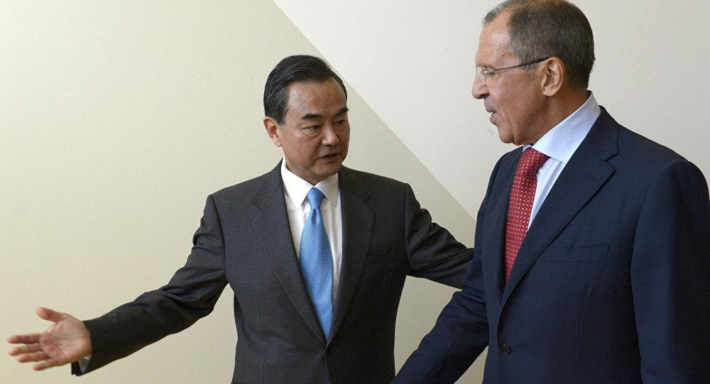 俄外长18日将与中国外长会面